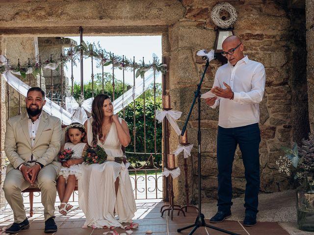 La boda de Ana y Álvaro en Boboras, Orense 2