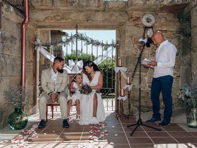 La boda de Ana y Álvaro en Boboras, Orense 36