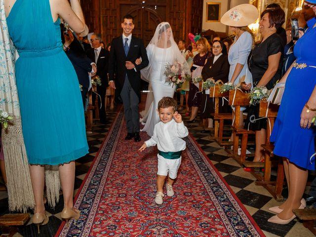 La boda de Curro y Cristina en Granada, Granada 40