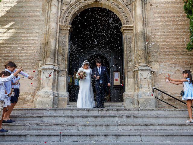 La boda de Curro y Cristina en Granada, Granada 54