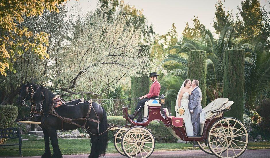 La boda de Jorge y Ainhoa en El Olivar, Guadalajara