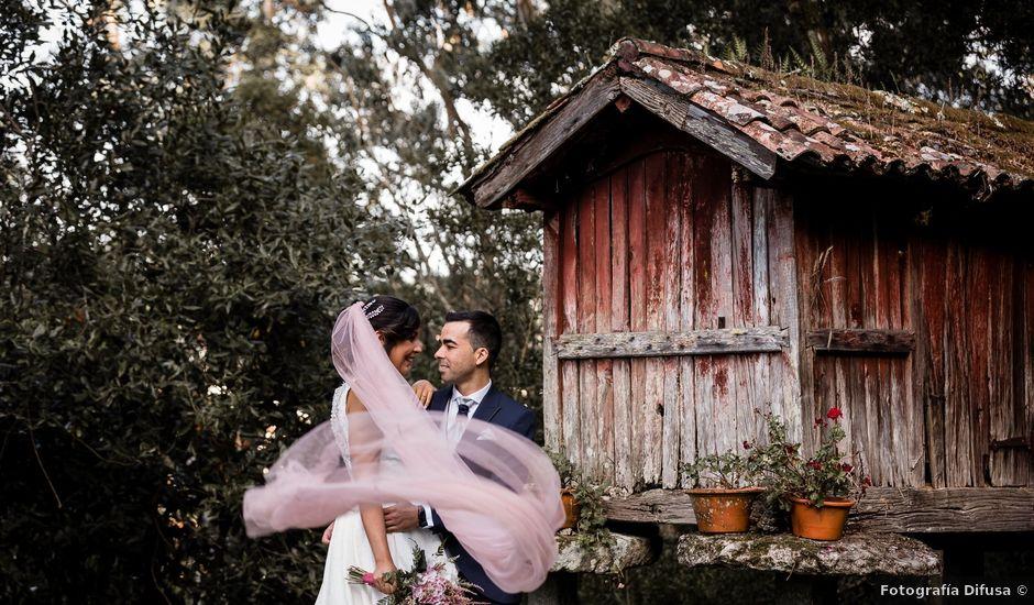 La boda de Eloy y Paula en Bueu (Meiro), Pontevedra
