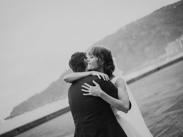 La boda de Ralf y Ana en Donostia-San Sebastián, Guipúzcoa 43