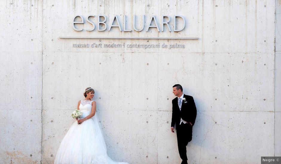 La boda de Lucio y Sandra en Bunyola, Islas Baleares