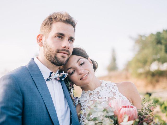La boda de Alba y Jakob
