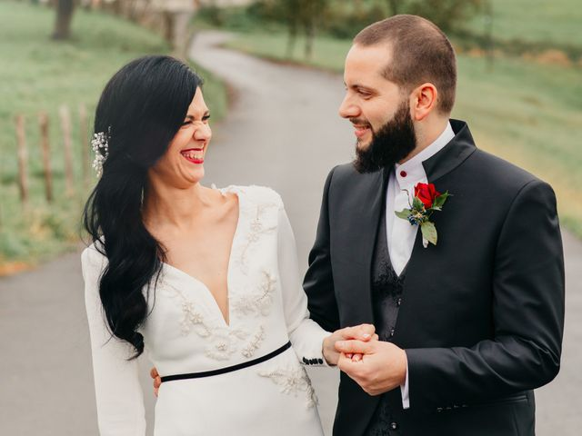 La boda de Gorka y Goretti en Pueblo Zizurkil, Guipúzcoa 45