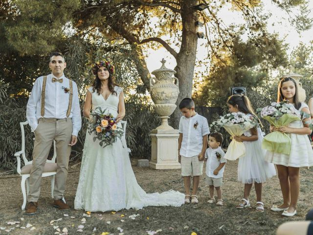 La boda de Juanjo y Majo en Riba-roja De Túria, Valencia 9