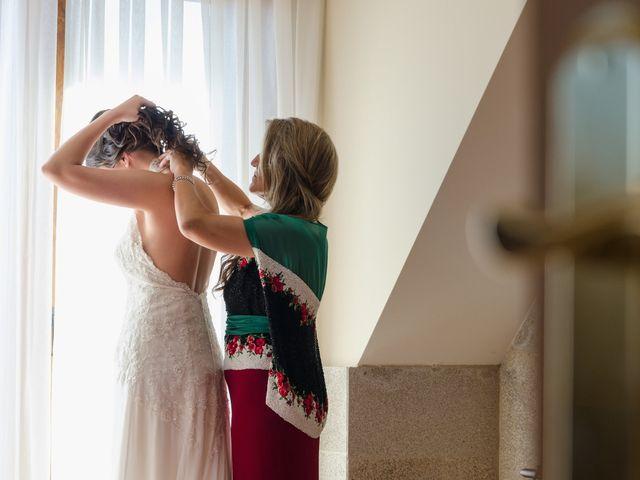 La boda de Carlos y Zaida en San Vicente De El Grove, Pontevedra 1