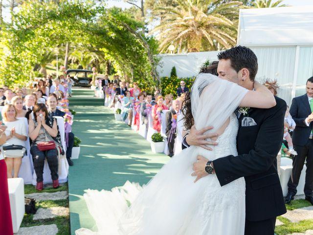 La boda de Carlos y Zaida en San Vicente De El Grove, Pontevedra 9