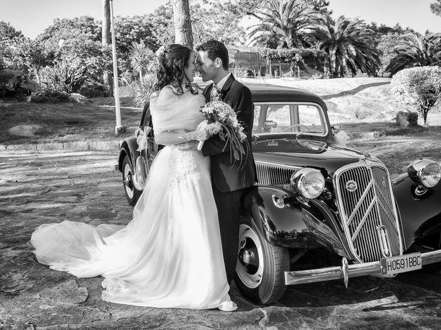 La boda de Carlos y Zaida en San Vicente De El Grove, Pontevedra 13