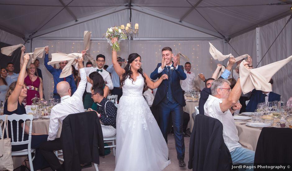 La boda de Arthur y Aitana en Riudellots De La Selva, Girona