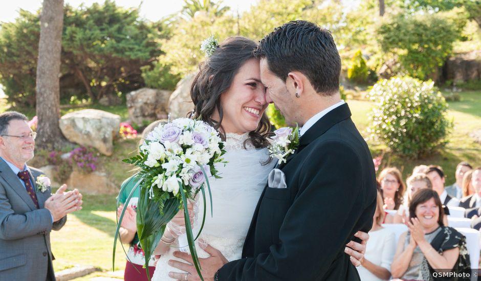 La boda de Carlos y Zaida en San Vicente De El Grove, Pontevedra