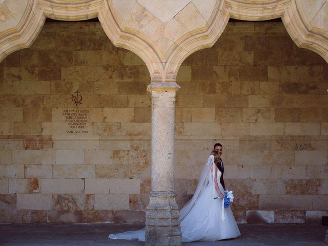 La boda de Mónica y Pablo en Santa Marta De Tormes, Salamanca 16