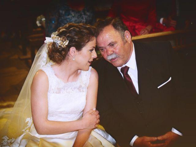 La boda de Carlos y Isabel en Brozas, Cáceres 26