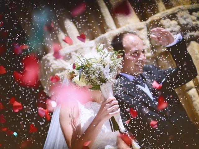 La boda de Carlos y Isabel en Brozas, Cáceres 28