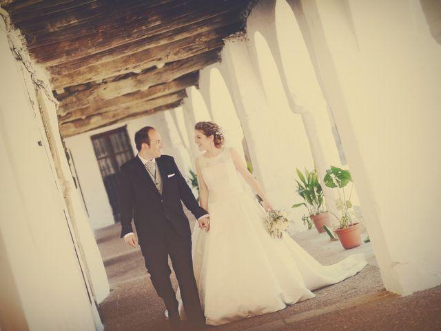 La boda de Carlos y Isabel en Brozas, Cáceres 33