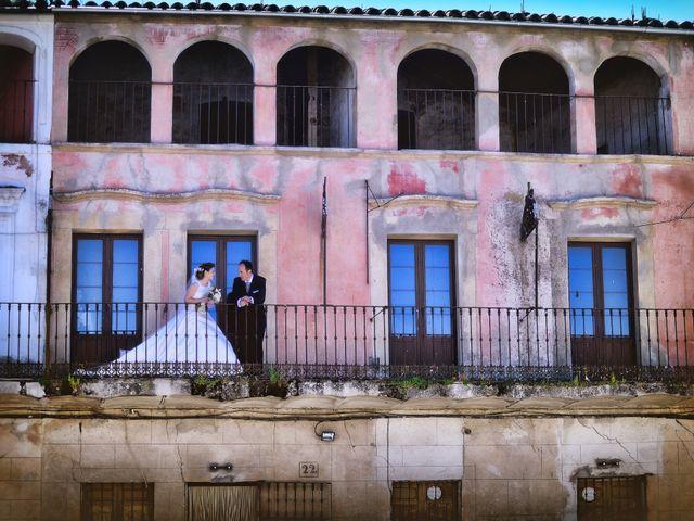 La boda de Carlos y Isabel en Brozas, Cáceres 36
