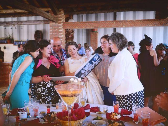 La boda de Carlos y Isabel en Brozas, Cáceres 42