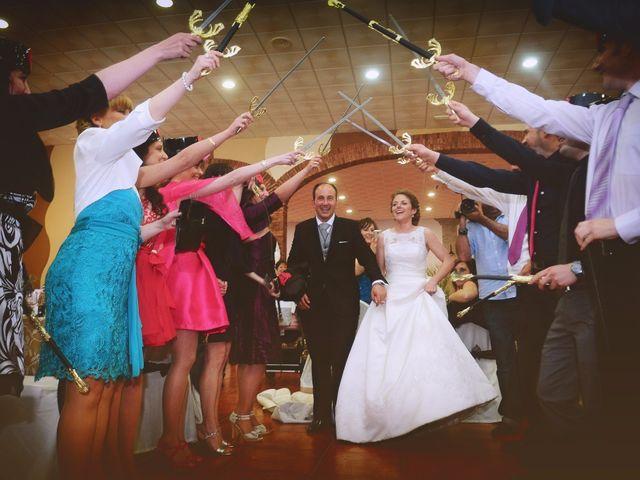 La boda de Carlos y Isabel en Brozas, Cáceres 45
