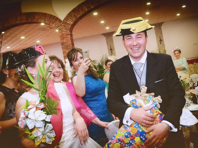 La boda de Carlos y Isabel en Brozas, Cáceres 46