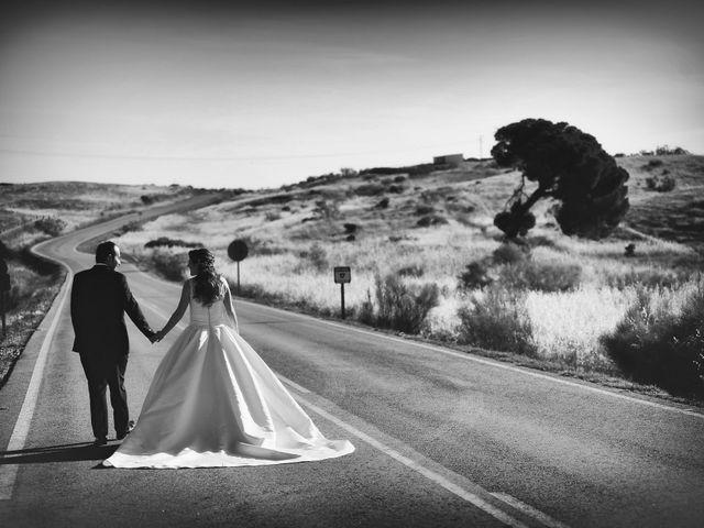La boda de Carlos y Isabel en Brozas, Cáceres 55