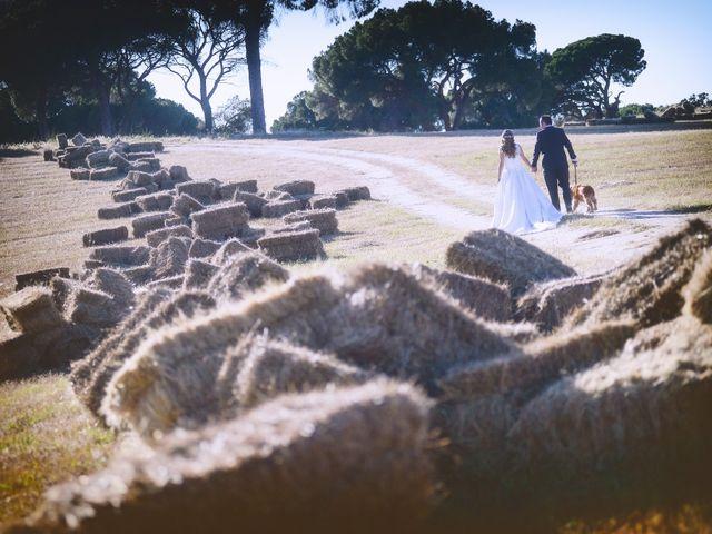 La boda de Carlos y Isabel en Brozas, Cáceres 56