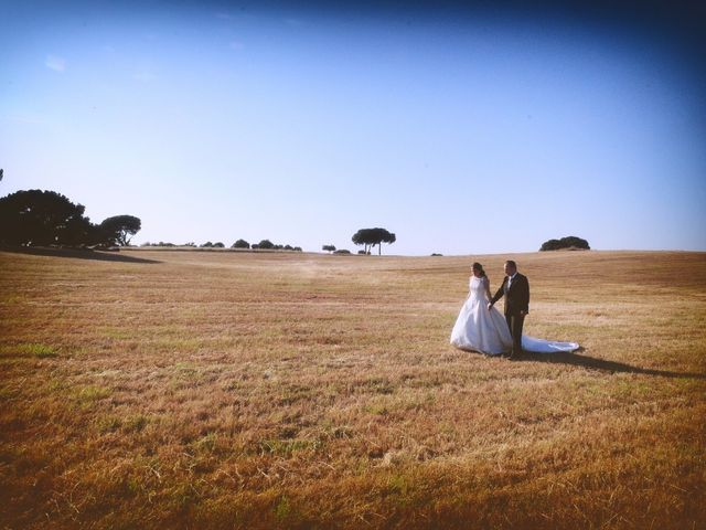 La boda de Carlos y Isabel en Brozas, Cáceres 58