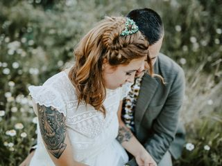 La boda de Elisa y Pako