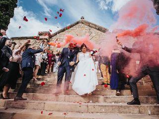 La boda de Lídia y Diego
