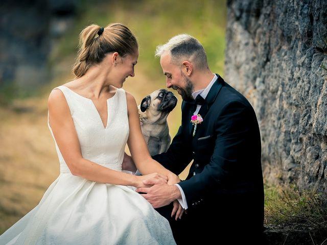 La boda de Patricia y Asier