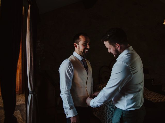 La boda de Diego y Andrea en A Baña, A Coruña 54
