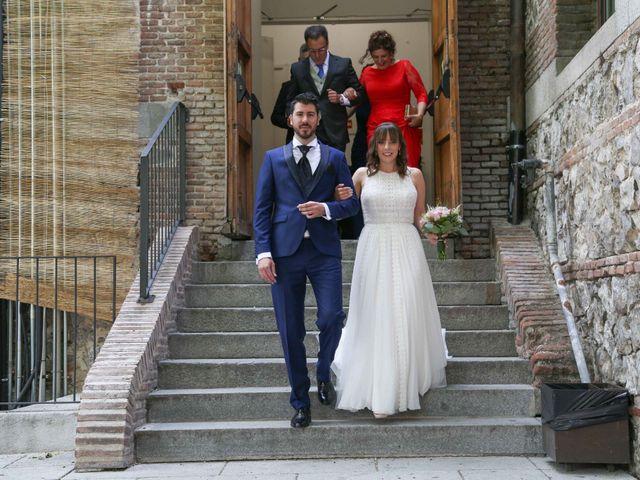 La boda de Ángel y Marta en Madrid, Madrid 10