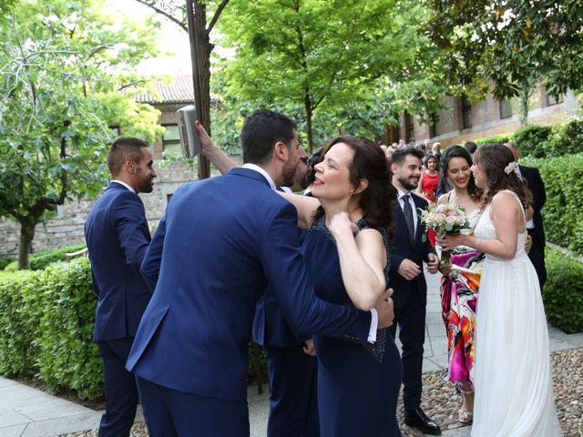 La boda de Ángel y Marta en Madrid, Madrid 27