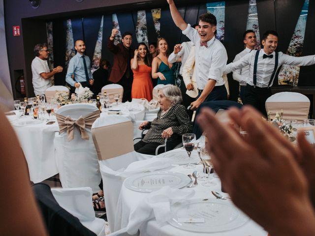 La boda de David y Laia en Santa Cristina D'aro, Girona 180