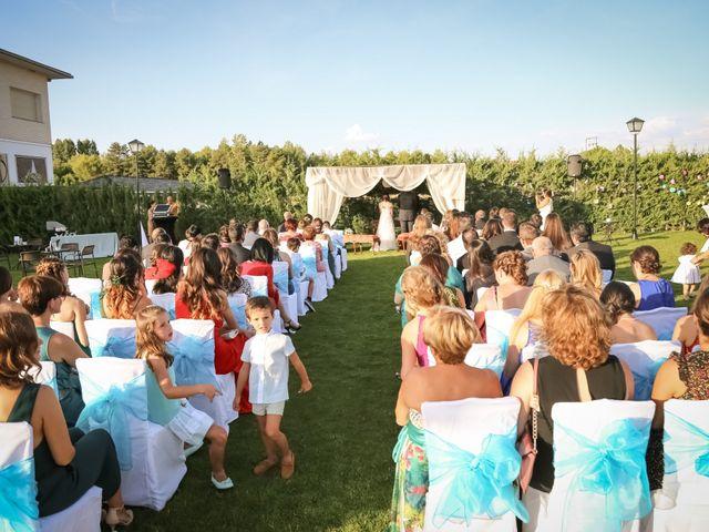 La boda de Javi y Bea en Siguenza, Guadalajara 2