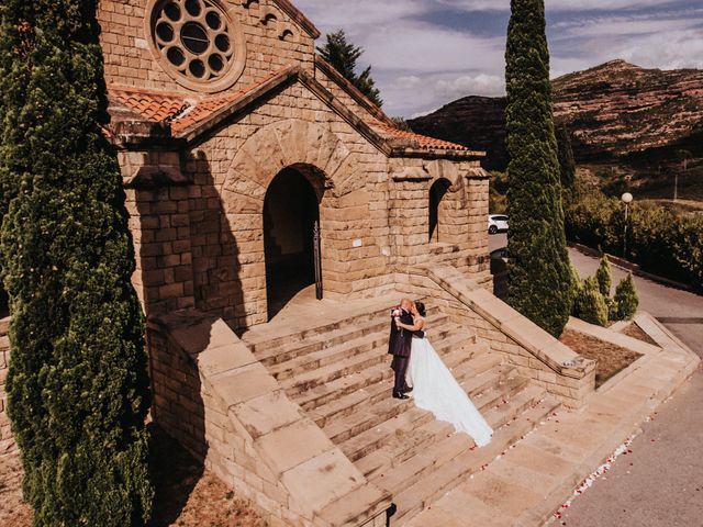 La boda de Diego y Lídia en Monistrol De Montserrat, Barcelona 36