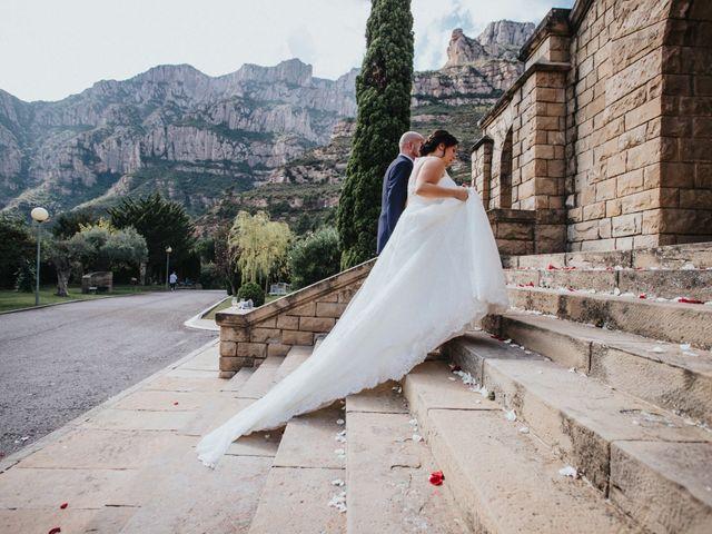 La boda de Diego y Lídia en Monistrol De Montserrat, Barcelona 39