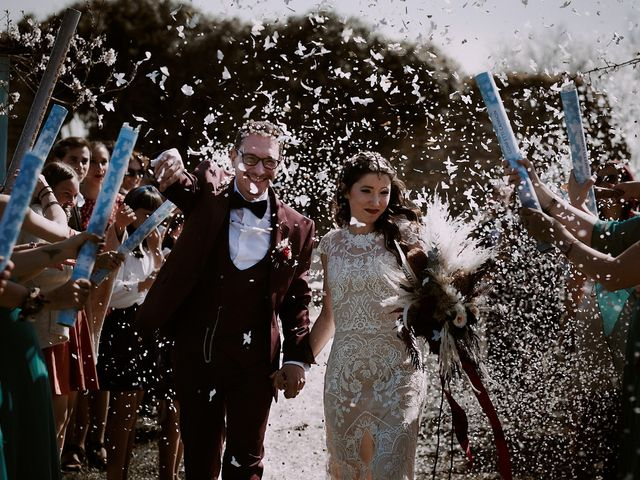 La boda de Josué y Bárbara en Cazalla De La Sierra, Sevilla 49