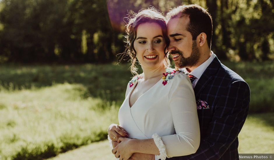La boda de Diego y Andrea en A Baña, A Coruña