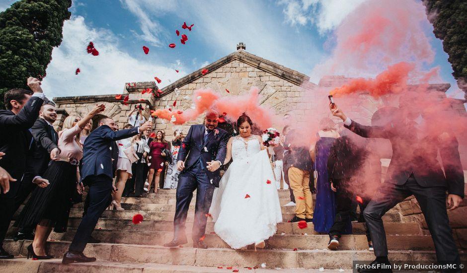La boda de Diego y Lídia en Monistrol De Montserrat, Barcelona