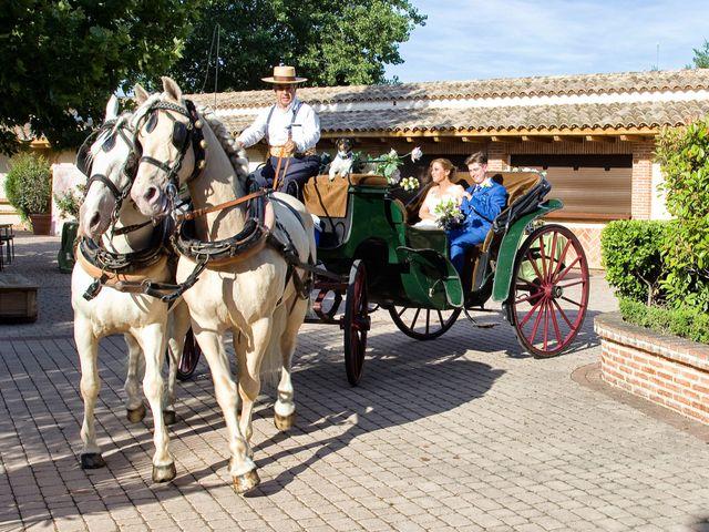 La boda de VIRGINIA y GONZALO en Illescas, Toledo 9
