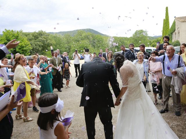 La boda de Albert  y Maria Fe  en Banyoles, Girona 21