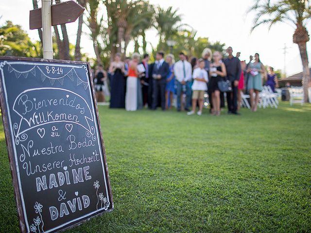La boda de David y Nadine en Benidorm, Alicante 38