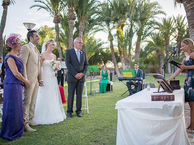 La boda de David y Nadine en Benidorm, Alicante 45