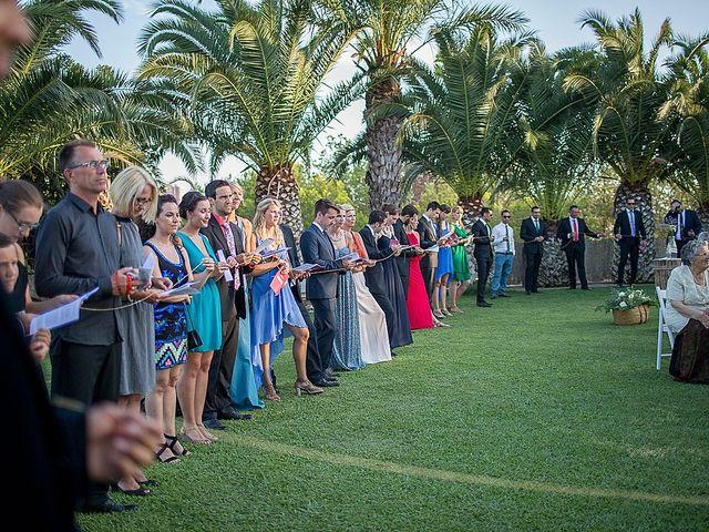 La boda de David y Nadine en Benidorm, Alicante 46