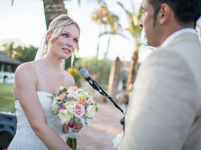 La boda de David y Nadine en Benidorm, Alicante 51