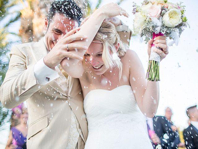 La boda de David y Nadine en Benidorm, Alicante 1