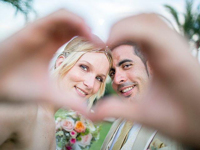 La boda de Nadine y David