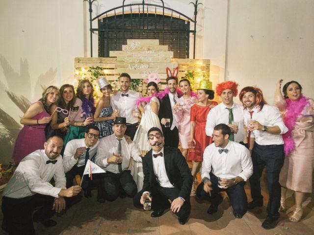 La boda de Arturo y Ana en Sueca, Valencia 137
