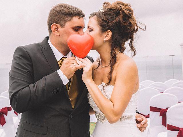 La boda de Janim y Abidan